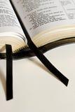 biblia wstążki Fotografia Royalty Free