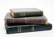 Biblias antiguas apiladas Fotografía de archivo libre de regalías
