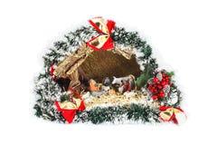Biblical Christmas story Stock Photos