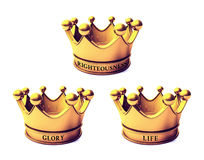 Biblical Crowns Royalty Free Stock Images