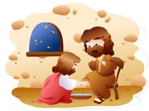 A biblical expression Stock Image