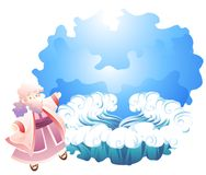 A biblical expression stock illustration