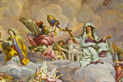 Biblical fresco Royalty Free Stock Images