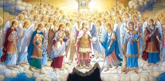 Biblical gathering Royalty Free Stock Image