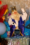 Biblical Magi King Stock Photo