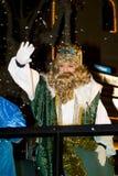 Biblical Magi parade in Spain Royalty Free Stock Photo