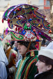 Biblical Magi Three Wise Men parade Stock Image