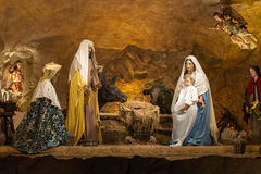 Biblical nativity scene Royalty Free Stock Photography