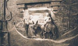 Wieliczka Salt Mine, Poland Royalty Free Stock Photography