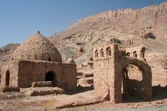 Biblical setting. The small ancient village of tuyok in xinjiang, china Royalty Free Stock Image