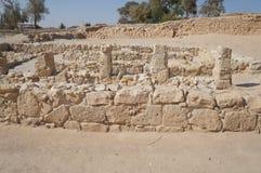 Biblical Tamar park, Arava, South Israel Stock Photography