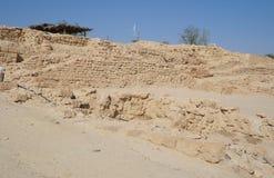 Biblical Tamar park, Arava, South Israel Royalty Free Stock Image