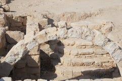 Biblical Tamar park, Arava, South Israel Royalty Free Stock Photography