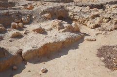 Biblical Tamar park, Arava, South Israel Royalty Free Stock Images