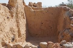 Biblical Tamar park, Arava, South Israel Royalty Free Stock Photo
