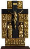 biblii Christ przecinający krzyżowania Jesus temat fotografia stock