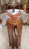 biblii czytania stół zdjęcie royalty free