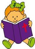 biblii dziewczyny dzieciak ilustracji