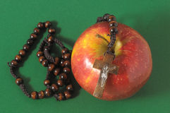 Biblii Eva grzechu rewolucjonistka Apple Fotografia Royalty Free