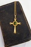 biblii przecinający Easter złoto stary Fotografia Stock