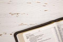 Biblii tło z Dostosowaną przestrzenią Obraz Royalty Free