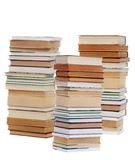 Bibliophile. An image of stacks of books royalty free stock photography