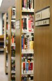 Biblioteca fotos de archivo libres de regalías