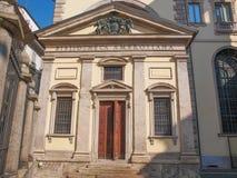 Biblioteca Ambrosiana,米兰 免版税库存照片