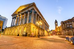 Biblioteca Birmingham Reino Unido de Centeral Fotos de Stock Royalty Free
