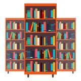 biblioteca bookcase Livros e conhecimento Ilustração do vetor ilustração royalty free