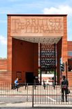 Biblioteca britannica Immagini Stock Libere da Diritti