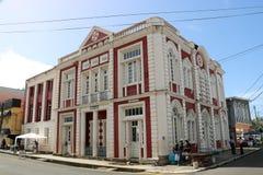 Biblioteca central de Castries, Santa Lucía fotos de archivo libres de regalías