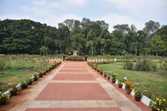 Biblioteca central del estado, Bangalore, Karnataka fotos de archivo libres de regalías