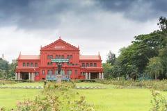 Biblioteca central do estado, Bangalore imagens de stock