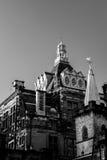 Biblioteca central, Edimburgo del Candlemaker Row Foto de archivo