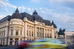 Biblioteca central em Bucareste, Romênia Imagem de Stock