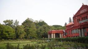 Biblioteca centrale dello stato, Bangalore, il Karnataka stock footage