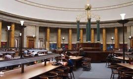 Biblioteca centrale, Manchester Regno Unito Fotografie Stock Libere da Diritti