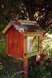 Biblioteca d'angolo a finestra Fotografia Stock Libera da Diritti