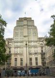A biblioteca da casa do Senado em Londres Fotografia de Stock