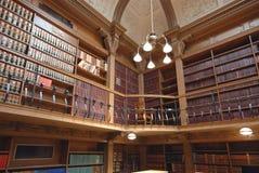 Biblioteca da escola de direito Foto de Stock Royalty Free