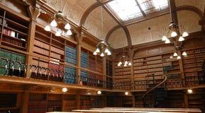 Biblioteca da escola de direito Imagem de Stock