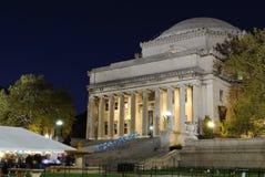 A biblioteca da Universidade de Columbia foto de stock