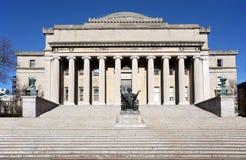 Biblioteca da Universidade de Columbia Fotos de Stock Royalty Free