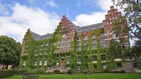 Biblioteca da universidade de Lund video estoque