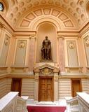 Biblioteca da universidade Iasi de Ferdinand Eu de Hohenzollern-Sigmaringen Imagens de Stock