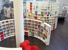 Biblioteca de Amsterdam Imágenes de archivo libres de regalías