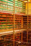 Biblioteca de Amsterdams Imagens de Stock Royalty Free