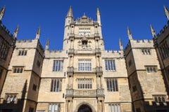 Biblioteca de Bodleian en Oxford foto de archivo