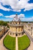 A biblioteca de Bodleian, universidade de Oxford Fotos de Stock